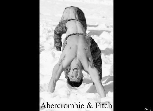 Abrupt Departure, Abercrombie and Fitch, Parody, Seoul, Korea