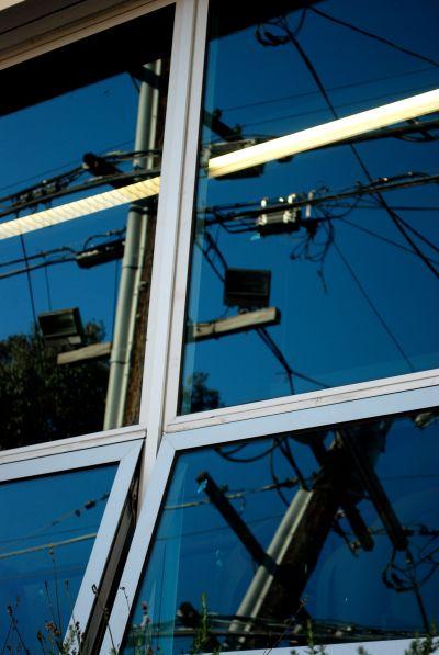 San Francisco power lines